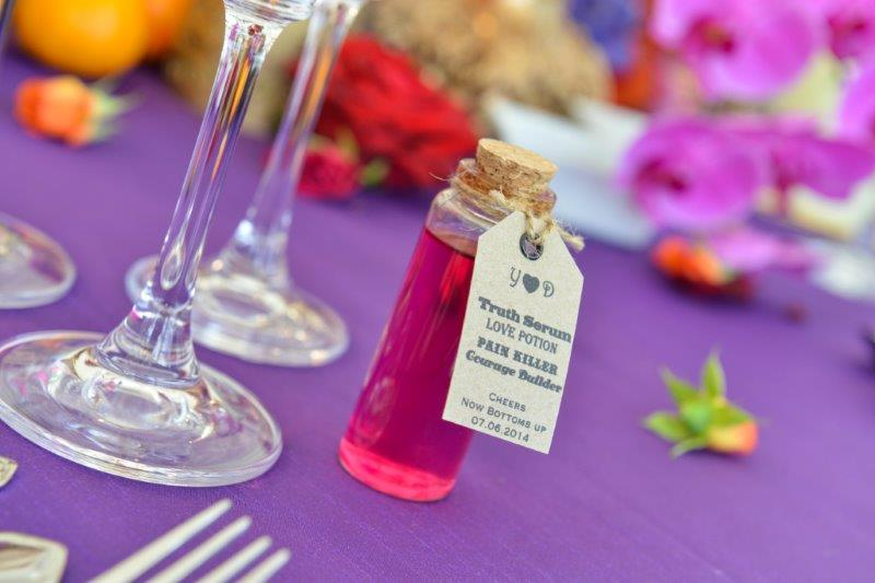 personal wedding favours