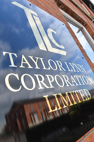 Taylor Lynn Corporation - Party Planners Manchester office plaque