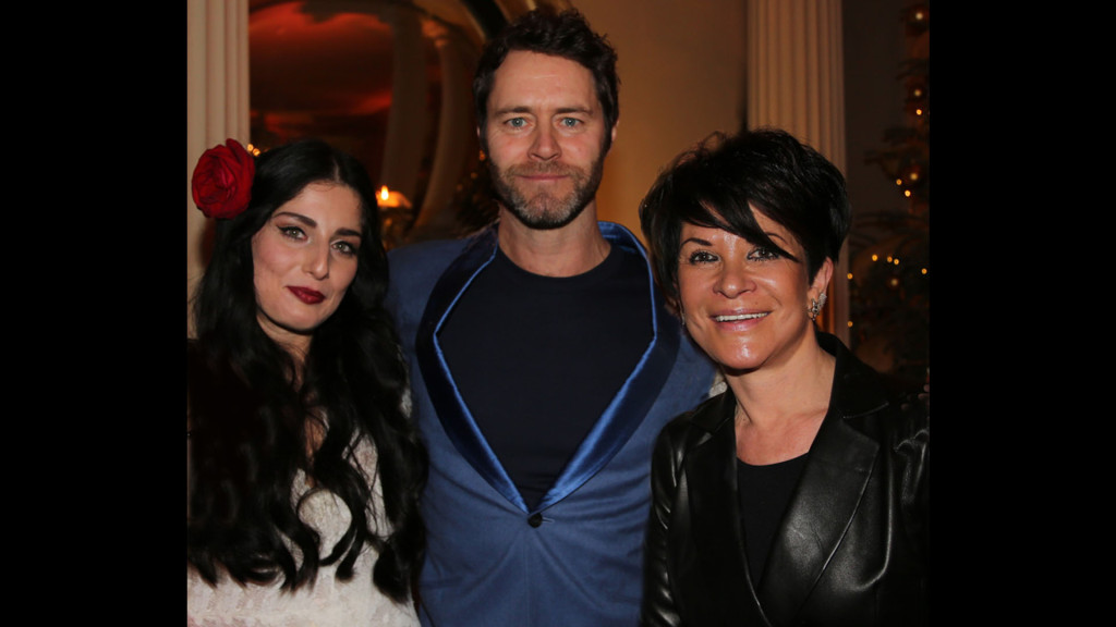 whos who image Howard Donald from Take That wife Katie Halil and Liz Taylor
