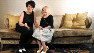 whos who image Kirsty Howard and Liz Taylor