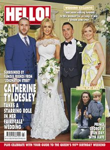 Cath Tyldesley wedding