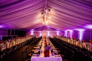 marquee party ideas