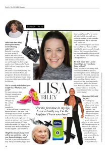 interview with Lisa Riley