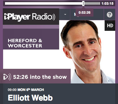 Liz talks to Elliott Webb of BBC Hereford & Worcester about awkward wedding moments