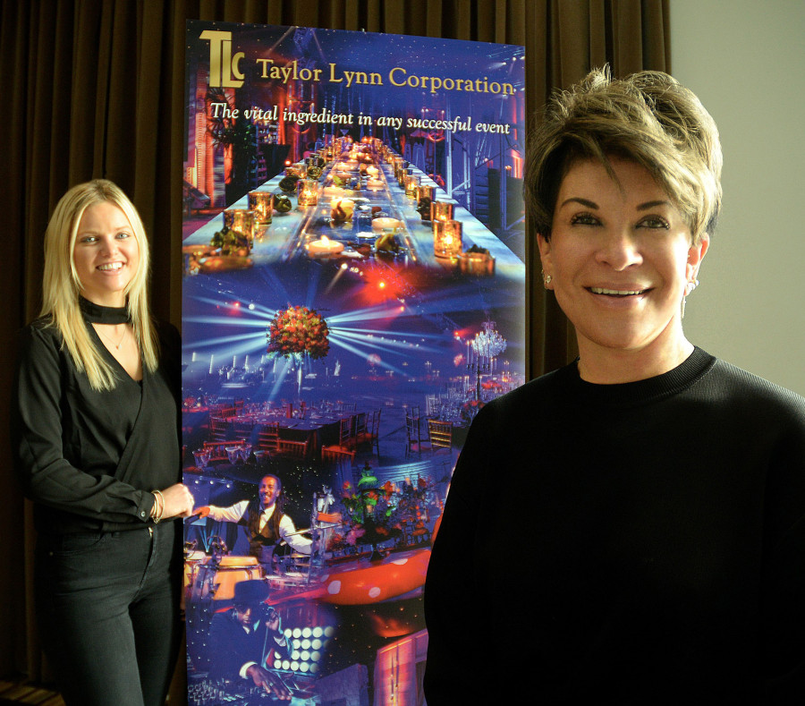 Ellie Barnes and Liz Taylor of TLC LTD