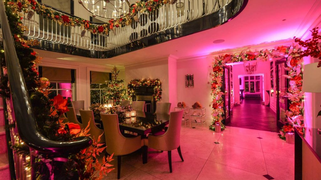 Christmas parties arranged by the Taylor Lynn Corporation the party planner in Manchester