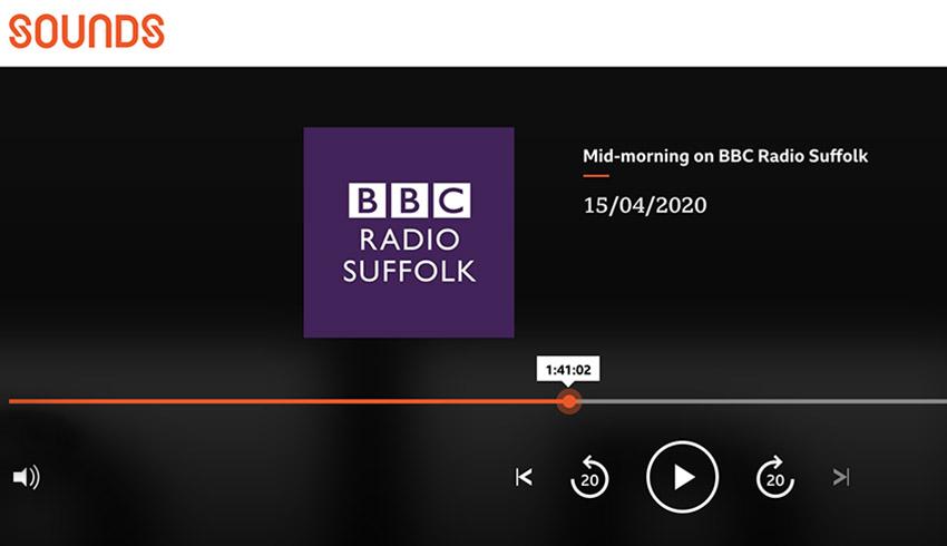 Atmosphere, Entertainment, Food , Fun. Liz talks birthday celebrations during lockdown with James Hazel at BBC Radio Suiffolk