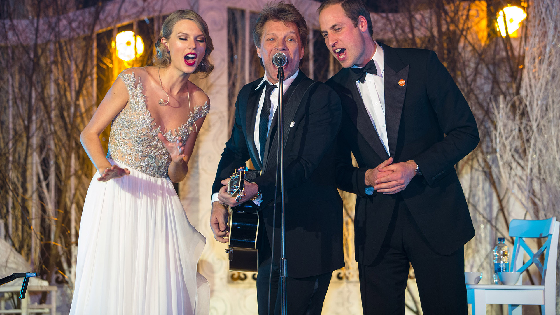 Prince William,Taylor Swift, Jon Bon