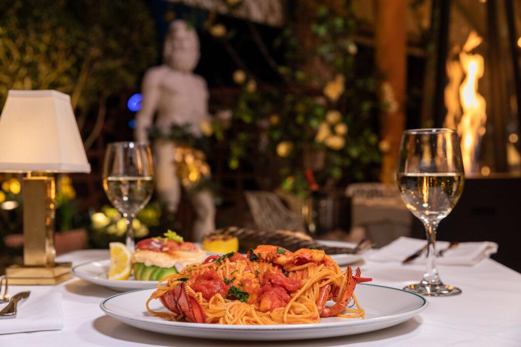 Creating an Amalfi Coast Garden Dining Experience